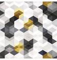 tech rhombus seamless texture vector image
