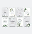 wedding cards invitations to marriage vector image vector image