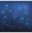 Abstract Blue Bokeh Background vector image