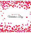 amour valentines day greeting card hearts vector image vector image