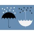 Hidden Benefits of umbrella vector image vector image