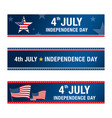 independence day 4 th july happy day vector image vector image