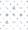 saw icons pattern seamless white background vector image vector image