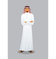 Arabic man character image vector image