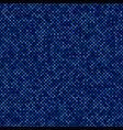 blue seamless star pattern background - design vector image