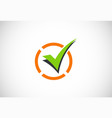 check list survey icon logo vector image
