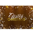 christmas greeting texture on wooden background vector image vector image