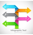 Infographics Options Banner vector image
