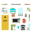Kitchen Tool Set vector image vector image