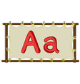 Letter of the alphabet vector image vector image