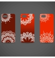 Set Phone cover collection Hand drawn ethnic vector image vector image