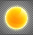 sun icon weather or meteo sign sunshine vector image