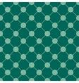 Teal Green Polka dot Chess Board Grid vector image vector image
