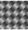 abstract seamless monochrome circle pattern vector image vector image