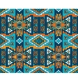 Aztec style seamless background vector image vector image