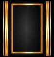 decorative frame icon vector image vector image