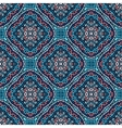 Flower Pattern Blue Pink Weave vector image