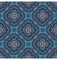 flower pattern blue pink weave vector image vector image