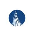 pyramide icon vector image