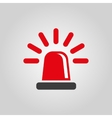 The flasher icon Police and ambulance alarm vector image vector image
