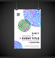 abstract background poster design vector image vector image