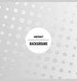 abstract monochrome background with dots vector image vector image