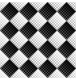 abstract seamless black and white dot pattern vector image vector image