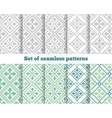 Geometrical seamless pattern vector image vector image