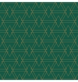 Golden seamles pattern Green background vector image