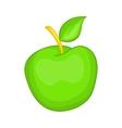 Green apple icon cartoon style vector image vector image