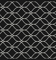 seamless pattern thin wavy lines subtle mesh vector image vector image