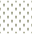 soldier in body armor pattern vector image vector image