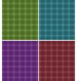 Tartan texture vector image vector image