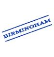 Birmingham Watermark Stamp vector image vector image