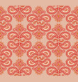 floral seamless pattern oriental texture flower vector image vector image