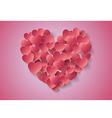 Heart Paper Sticker vector image vector image