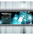 hitech background vector image vector image