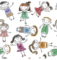 holidays funny kids vector image vector image