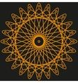 Orange pattern for your design vector image vector image