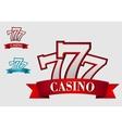 Casino gambling symbol vector image