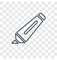 marker concept linear icon isolated on vector image