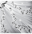 music sound background vector image