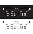 oculus logo vector image vector image