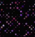 repeating star pattern - background design vector image vector image