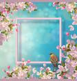 spring decorative frame