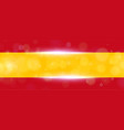 the national flag of spain modern pattern vector image vector image