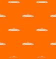 wedding car decoration pattern seamless vector image vector image