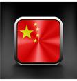 Simple flat icon China flag Premium basic design vector image