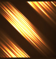 abstract background with glowing lines vector image vector image