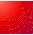 Abstract background with red layers vector image vector image